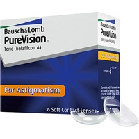 Bausch + Lomb PureVision Toric 6 St. / 8.70 BC / 14.00 DIA / -9.00 DPT / -0.75 CYL / 10° AX