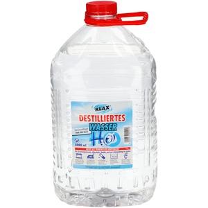 VENTON Klax Destilliertes Wasser 15L (3×5L) I Entsalztes - Entionisiertes - Demineralisiertes Wasser nach VDE 0510 I Dest Wasser für Haushalt, Freizeit, Auto & Labor I Reines Wasser I Laborwasser