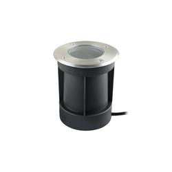 VBLED LED Einbaustrahler Schwenkbarer LED Bodeneinbaustrahler 230V AC IP67 wassergeschützt, LED Bodeneinbaustrahler