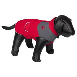 Nobby Hundemantel Remus rot/grau, Länge: 20 cm