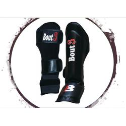 BOUT3 Schienbeinschoner MMA Schienbeinschoner BJJ Schienbeinschoner Muay Thai Kickboxen Kampfsport Boxen S/M