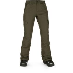 Volcom - Bridger Ins Pant Black Military - Skihosen - Größe: S