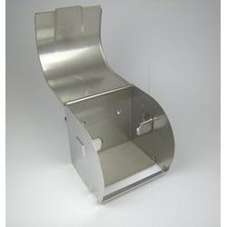 Airbrush-City Toilettenpapierhalter Rollenhalter Toilettenpapier Halter Edelstahl für Klorollen Papierhalter Papierrollenhalter (1-St)