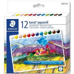 Aquarellkreide karat aquarell 94 mm 12 Farben
