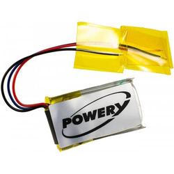 Powery Akku für Kopfhörer Beats Powerbeats 2 / Typ CPP-566, 3,7V, Li-Polymer