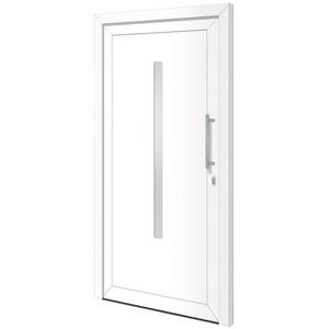 RORO Türen & Fenster Haustür Otto 20, BxH: 100x200 cm, weiß, ohne Griff