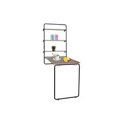 HTI-Line Klapptisch Wandklapptisch Cora mit Kreidetafel, Tisch