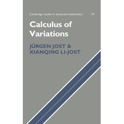 Calculus of Variations als Buch von Xianqing Li Jost/ Xianqing Li-Jost