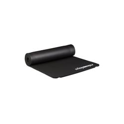 relaxdays Yogamatte Yogamatte 1 cm dick einfarbig schwarz