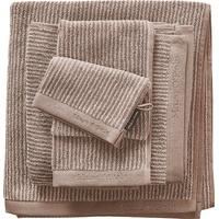 Marc O'Polo Timeless Tone Stripe Badetuch (70x140cm) beige/sand
