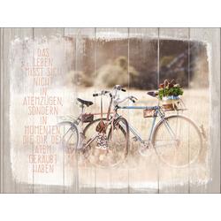 Keilrahmenbild BICYCLE (LB 57x77 cm) Pro-Art