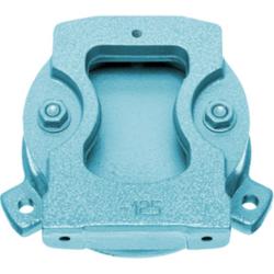 Drehuntersatz für 100 mm Parallel-Schraubstock, Farbe blau