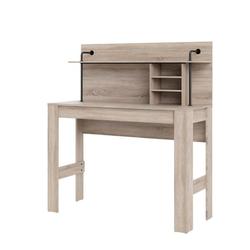 ebuy24 Schreibtisch Fula Schreibtisch 1 grosse Ablage und 2 kleine Abl
