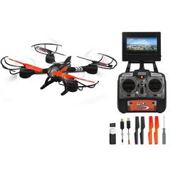 Jamara RC-Quadrocopter Loky, mit Display und Kamera