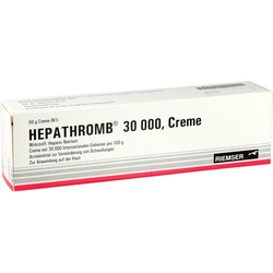 HEPATHROMB Creme 30.000 50 g