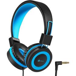 Kinder Kopfhörer, Kabel Kopfhörer für Kinder, Verstellbares Stirnband, Stereo Sound, Faltbare, Entwirrte Drähte, 3,5 mm Aux Jack, 85dB Volume Limi