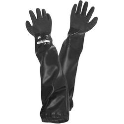 Griffy L+D 1485 PVC Sandstrahlerhandschuh Größe (Handschuhe): Damengröße EN 388 CAT II 1St.