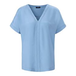 Blusenshirt mit V-Ausschnitt Basler air