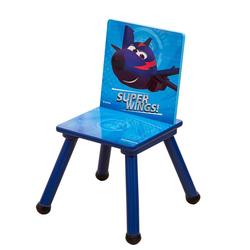 style home Stuhl Super Wings Kinderstuhl Holzstuhl Stuhl für Kinder ''Chase''