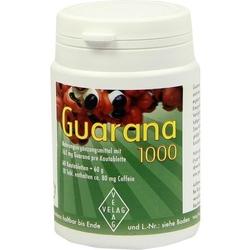 GUARANA 1000 mg Kautabletten 60 St.