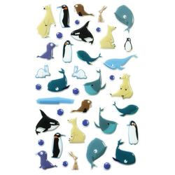 maildor Sticker Wale, 30 Stück