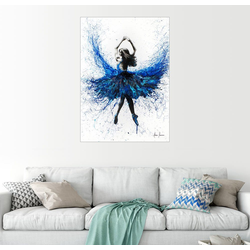 Posterlounge Wandbild, Kristall-Tanz 100 cm x 130 cm
