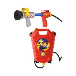 SIMBA Wasserpistole Feuerwehrmann Sam Tankrucksack mit Löschpistole