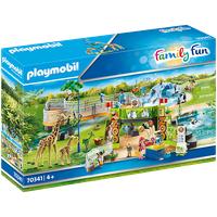 Playmobil Family Fun Mein großer Erlebnis-Zoo
