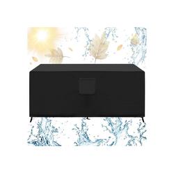 ONVAYA Gartenmöbel-Schutzhülle Gartenmöbel Abdeckung mit Belüftungsöffnungen wasserdicht 600D+PVC, Schutzhülle, Abdeckhülle, Abdeckhaube, Gartentisch Abdeckung, rechteckig 170 x 94 x 71 cm
