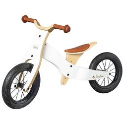 Pinolino® Laufrad Laufrad Oskar weiß/natur, umbaubar zum Lauflerndreirad