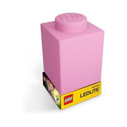 LEGO® Nachttischlampe Nachtlicht LEGO-STEIN, rosa