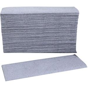 Blaue Falthandtücher, Handtuchpapier, Papierhandtücher, Papiertücher, 3000 Blatt, 23x23 cm, Z-Falz, 1-lagig