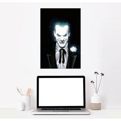 Posterlounge Wandbild, The Joker Face 61 cm x 91 cm