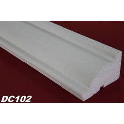 DC102 Fensterbankprofil Fenster Zierprofil 115x70mm Fassadenprofil Fassadenstuck Profil Leiste 200cm