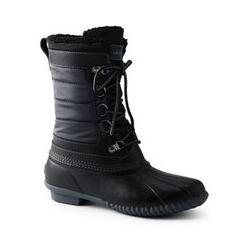 Duck Boots mit Teddyfutter - 42.5 - Grau
