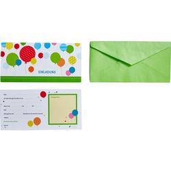 JAKO-O Einladungskarten, bunt - bunt