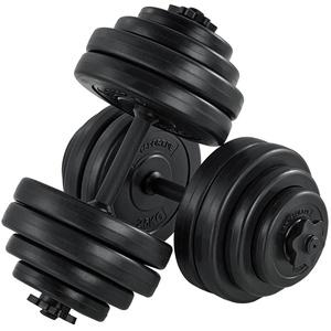 Artsport 2er Hantelset 30kg - Kurzhantel Set mit 2 Kurzhanteln, 16 Gewichte – Rutschfeste Griffe