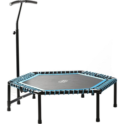 body coach Fitnesstrampolin body coach Fitness-Trampolin Jump & Fit 6-eckig Ø 127 cm, Ø 127 cm
