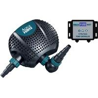 AquaForte Aqua FORTE Filter O-Plus 22.000 Vario S, 70-200W, Förderhöhe 7,5m, regelbar Teichpumpe, blau,schwarz