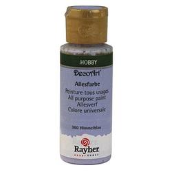 Rayher Allesfarbe Acrylfarben himmelblau 59,0 ml, 1 St.