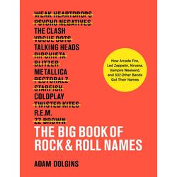 The Big Book of Rock & Roll Names als Buch von Adam Dolgins