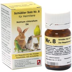 SCHÜSSLER SALZ Nr.8 Natrium chlor.D 6 f.Heimtiere 200 St