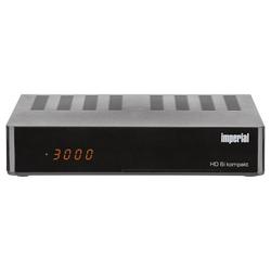 IMPERIAL HD 6i Kompakt 77-547-00 DVB S2 HD & Multimedia Receiver - schwarz SAT-Receiver