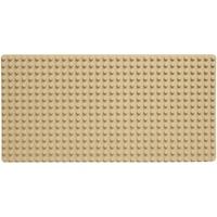 Katara Große Grundbauplatte in verschiedenen Farben, 100% Kompatibel: Lego, Duplo, Hubelino, Papimax, Unico Plus Steckbausteine sand