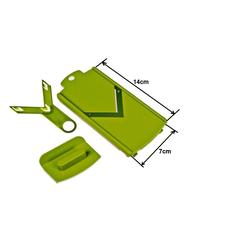 Genius Gemüseschneider Genius Nicer Dicer Kompakt od. Smart Hobel-Einsatz Set 3-tlg. 7x14cm