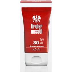 TIROLER NUSSÖL alpin Sonnencreme LSF 30 40 ml