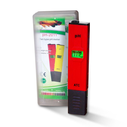 PH TESTER ATC PH-2011, 0-14 PH, ph Tester (rot in Box)