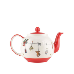 Mila Teekanne Mila Keramik-Teekanne, Es Weihnachtet sehr, ca., 1,2 l