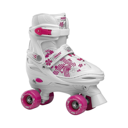 Roces Rollschuhe Rollschuhe Quaddy weiß rosa 38-41