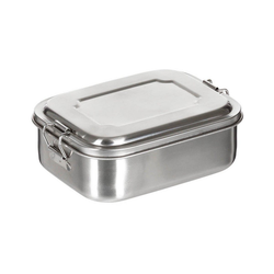 FoxOutdoor Lunchbox Lunchbox, Edelstahl, Stülpdeckel 750 ml